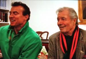 Denié Bernier and Jacques Pépin