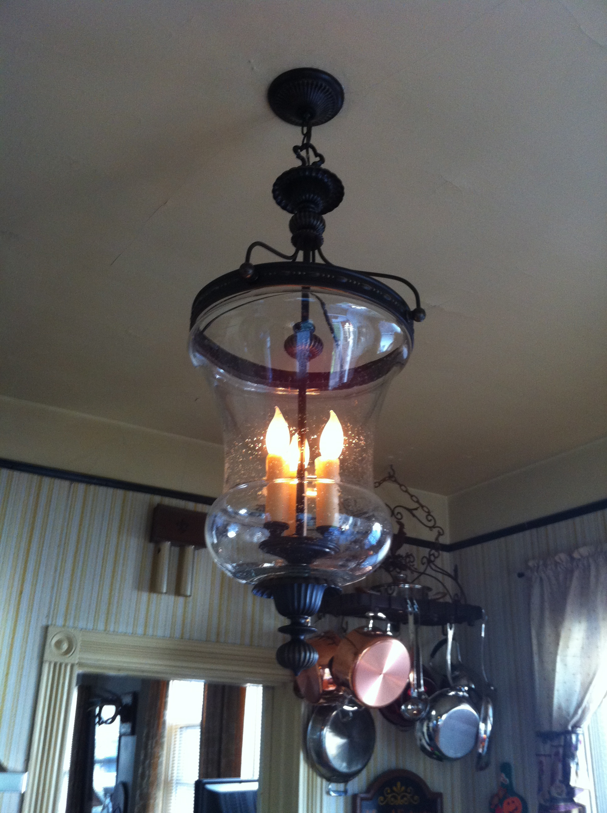Restoring my antique French country kitchen one piece at a time. & Updating with a light from the turn of the century. | DeniéBernier.com azcodes.com