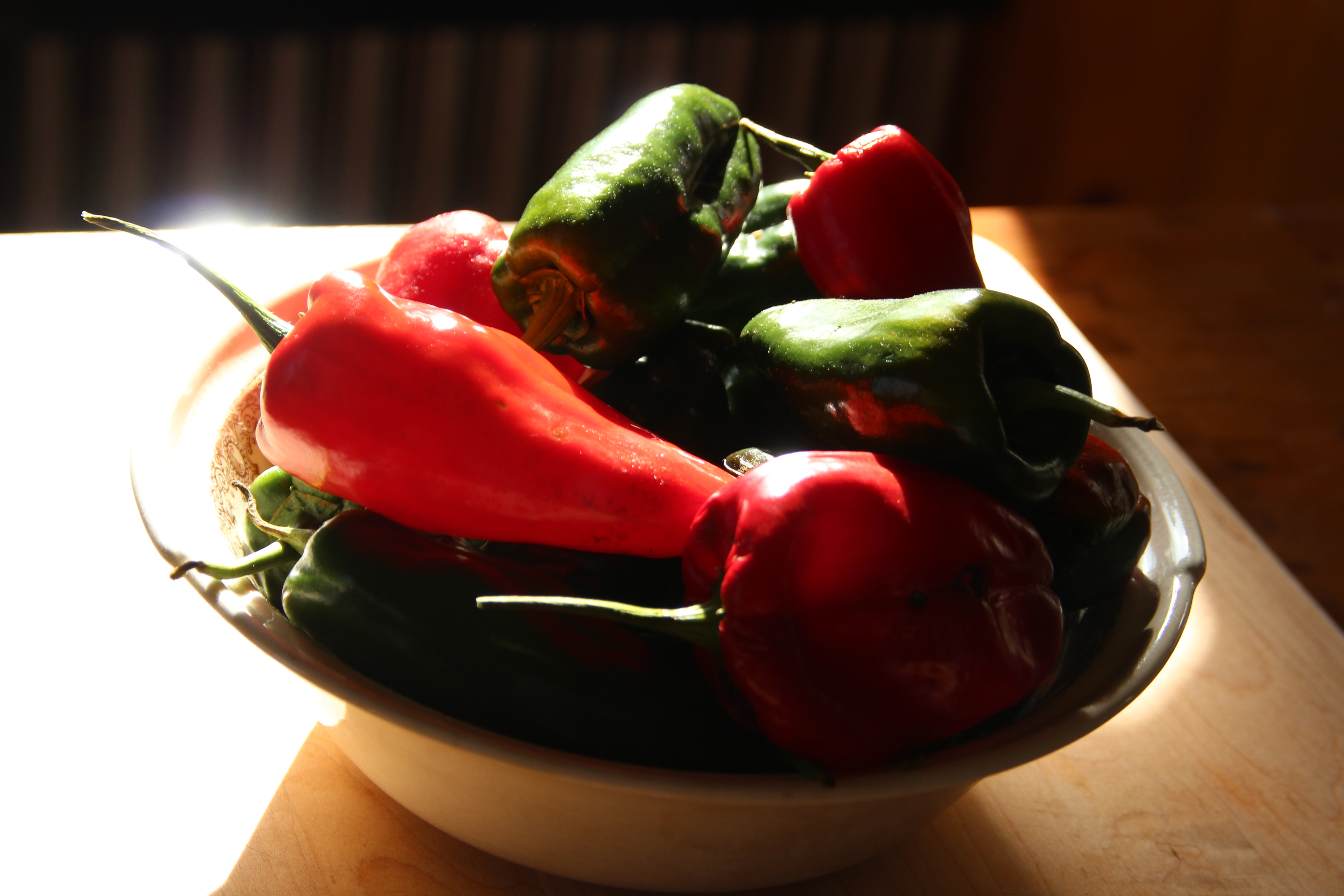 Ancho peppers for sauce
