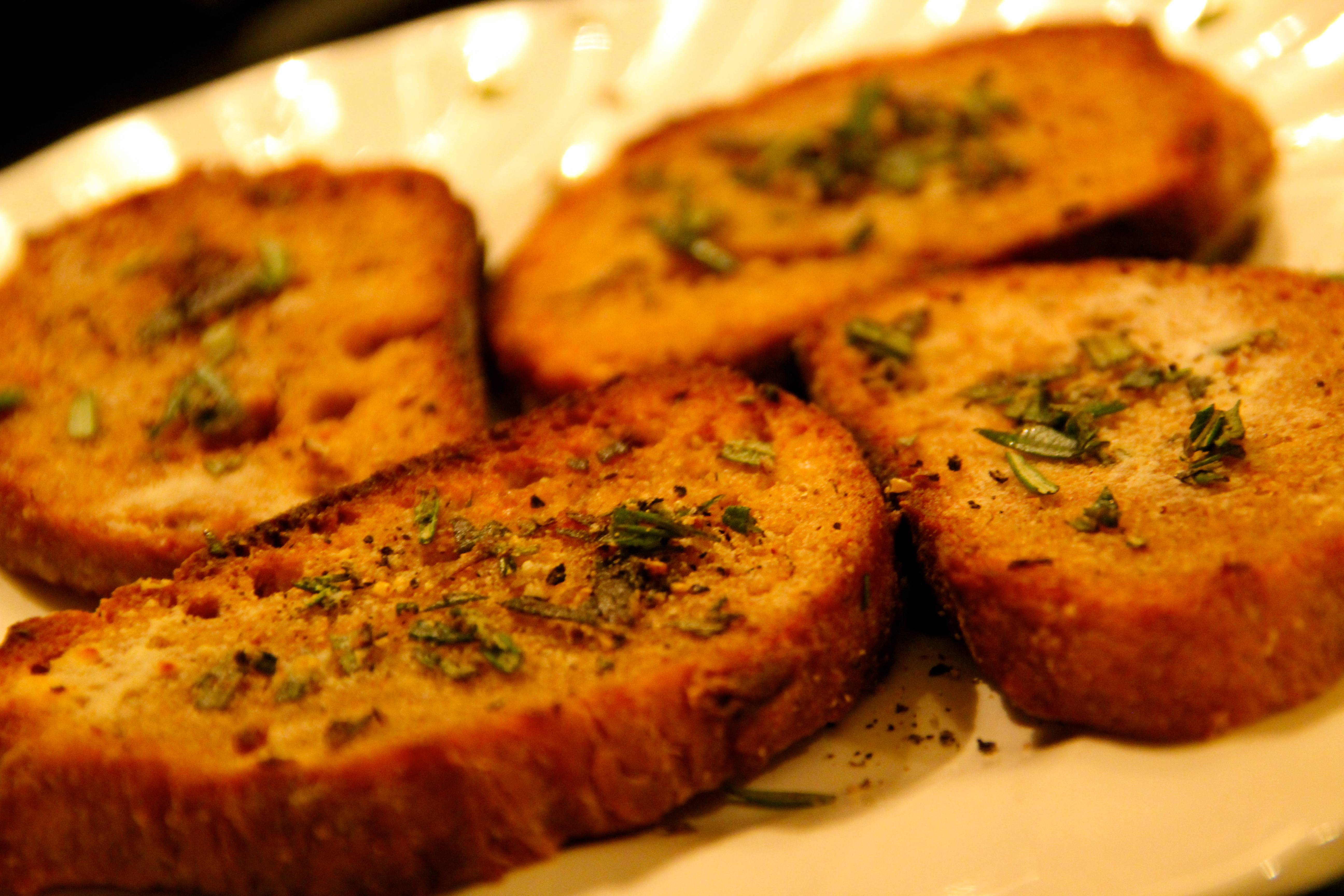 Grilled Rosemary French Bread
