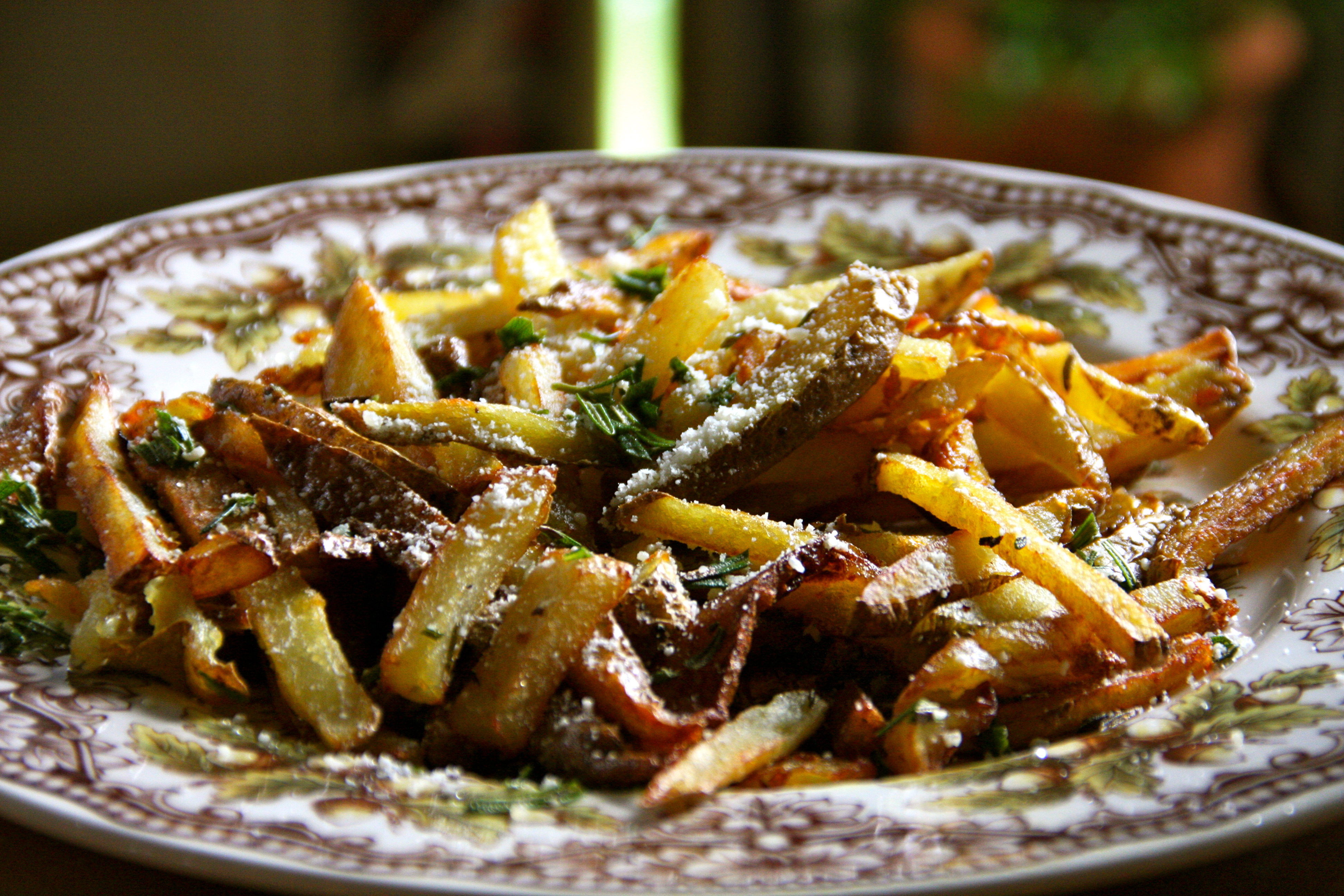 Rosemary Parmesan French Fries