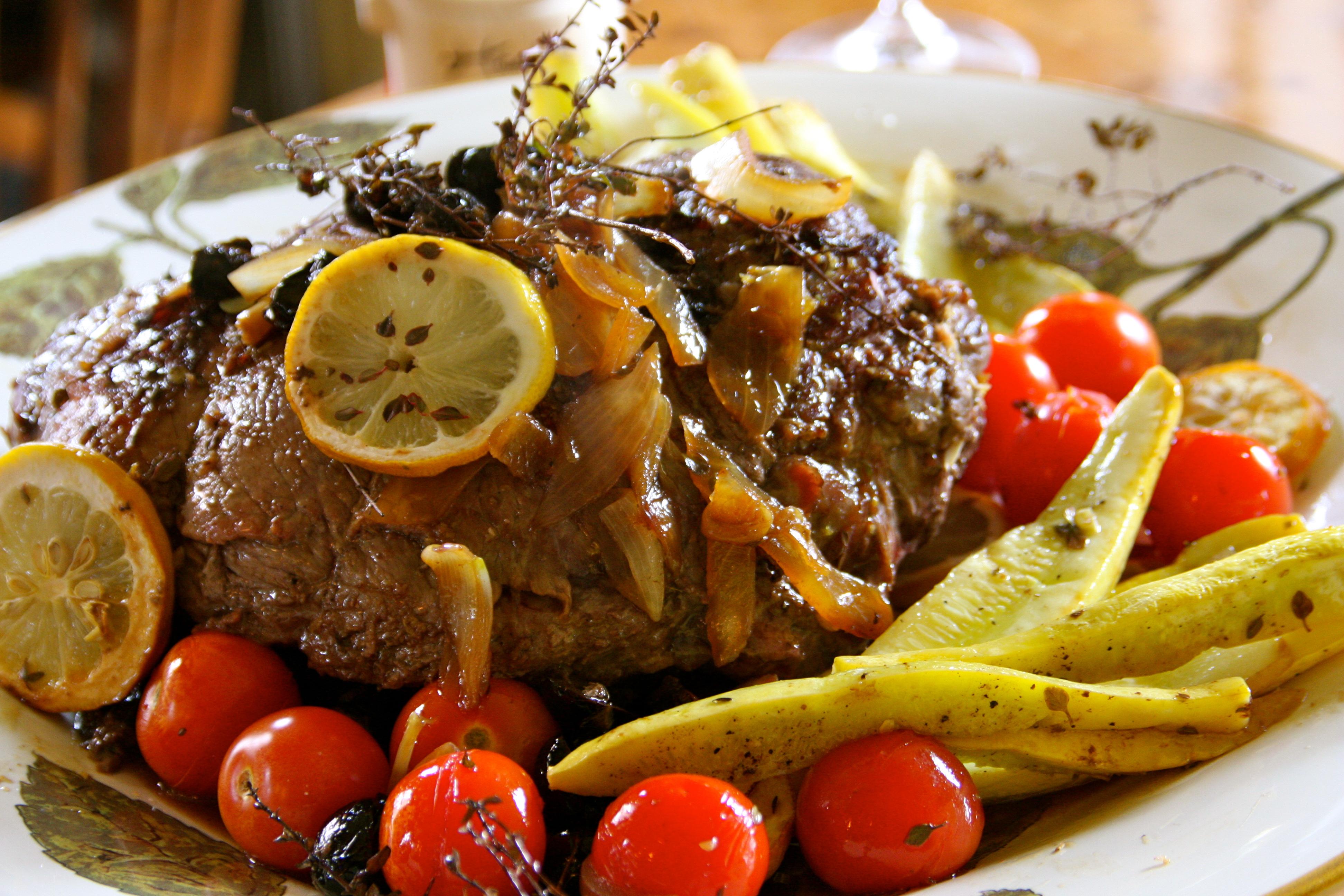 Pot roast, French cuisine, chuck roast , Sunday dinner