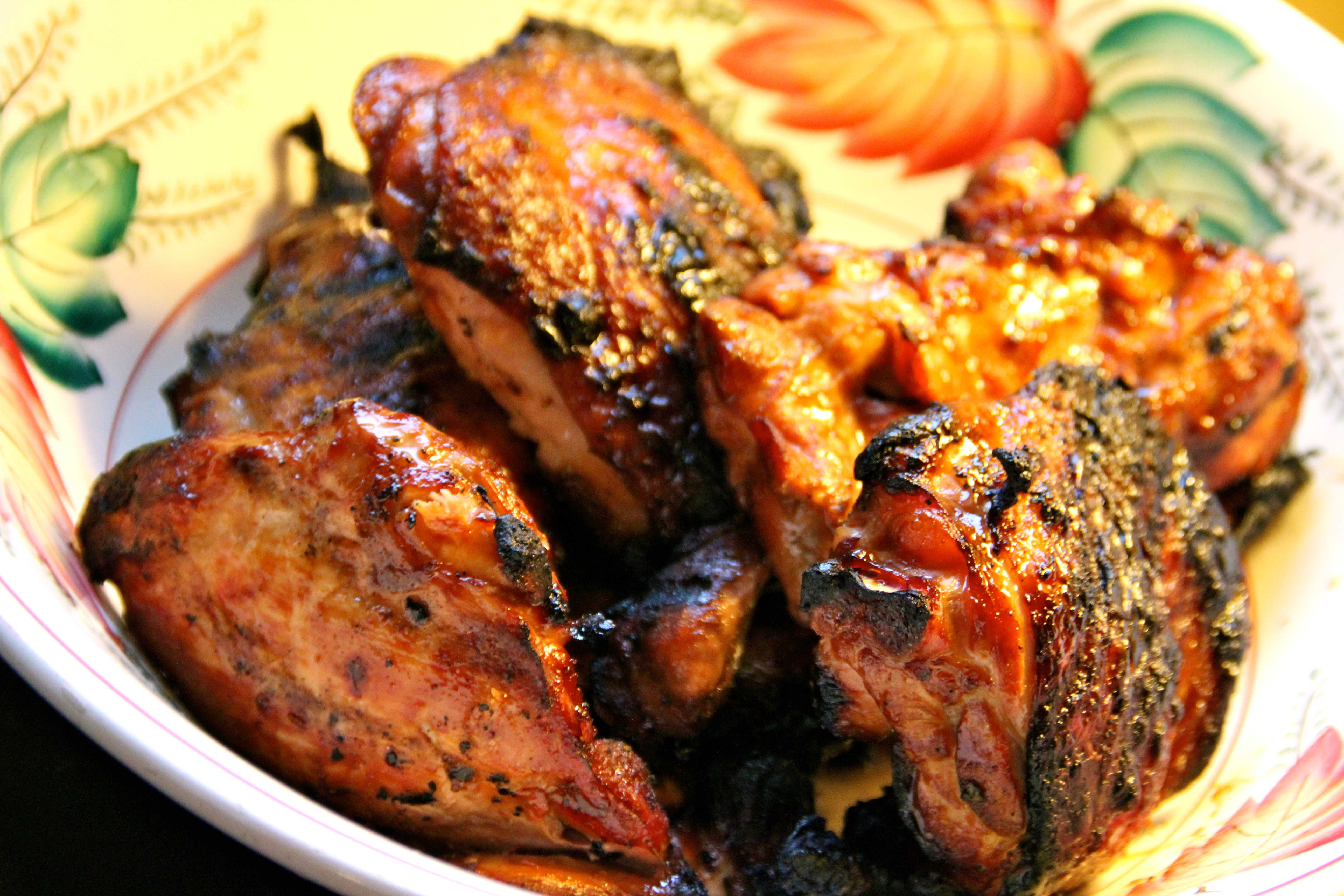 Grilled, Marinated Chicken, summer recipe, easy dinner, French cuisine