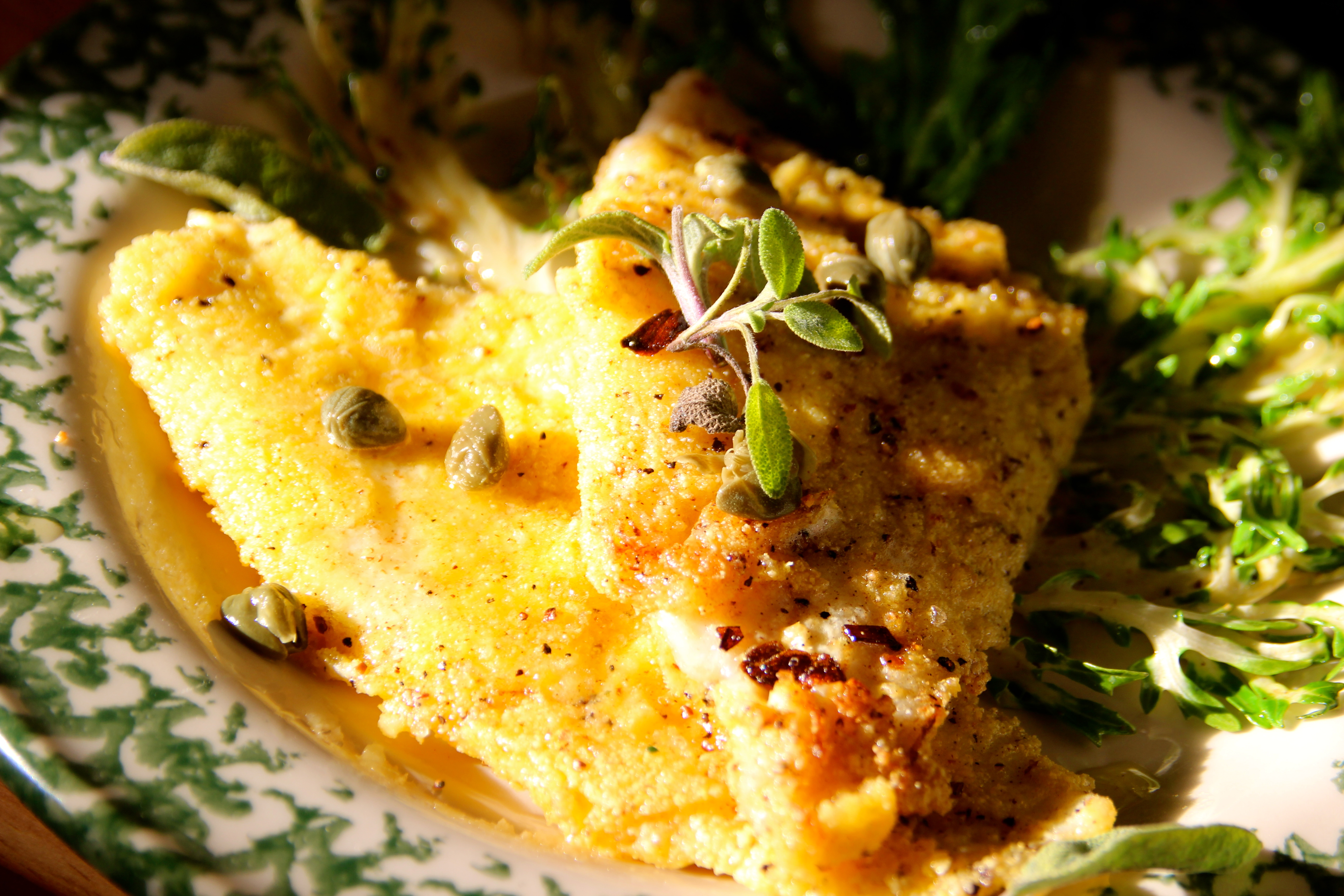 Fillet of Sole Ornamental Cabbage seafood fish recipe French cuisine