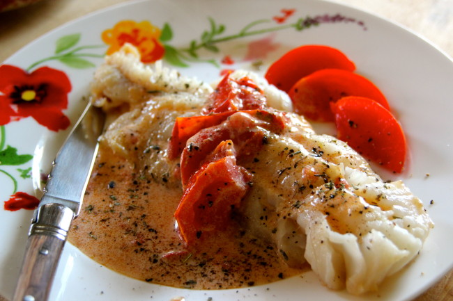 Poisson Tomate Crème