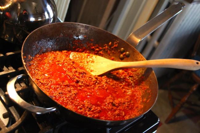Ground Chuck Tomato Sauce