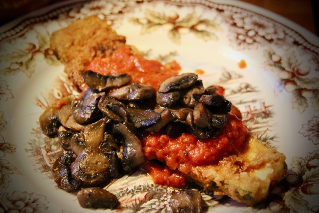 Crispy Zucchini Steaks